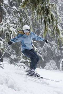 Take your ski helmet to the store when shopping for new goggles.