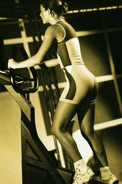 Stair climbers tone your leg muscles for a sexy and sleek look.