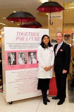 Oncologists participate in public education to try to increase early diagnosis of cancers.