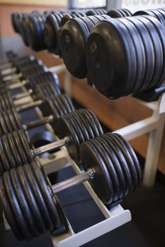 Buy a set of adjustable-weight dumbbells, or try out various weights at a gym.