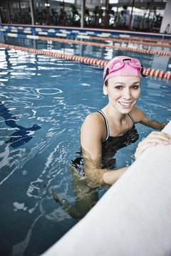 Get a great workout in and strengthen your legs to boot with swimming.