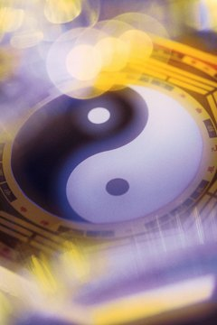 The yin-yang is the central symbol of Taoism.