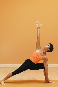 A mat prevents you from slipping out of your asana.