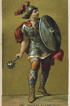 Charles Martel led the Franks prior to the Carolingian dynasty.