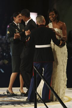 If you're not sure what to wear to a military ball, ask the base commander's wife about appropriate attire.