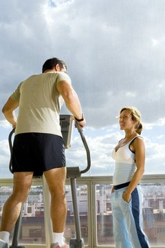 Ellipticals are a good low-impact alternative to jogging.