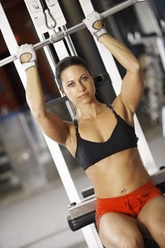 Weight machines speed up your workout and target different areas.