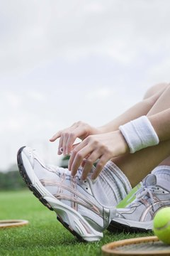 The right fitting shoe can eliminate strain on your calf muscles.
