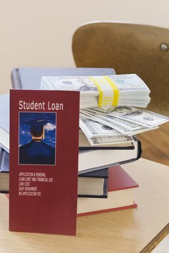 Student loan lenders report your payment activity and outstanding balance to the three major credit bureaus.