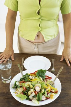 A healthy diet will help make your stomach flat.