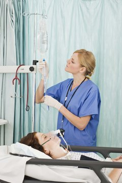 Some states don't permit LPNs to start intravenous drips.