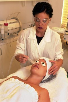 A dermatology nurse might perform a number of different skin procedures in a dermatologist's office.