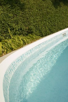 In-ground pools require large amounts of labor and materials.
