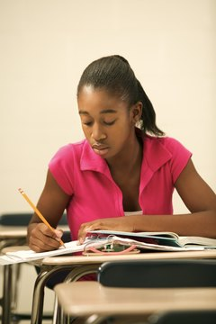 Strong written expression skills aid students in applying to colleges and universities.