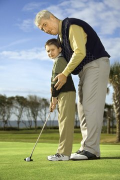 Most local golf courses offer affordable golf lessons for beginners.