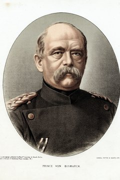 Otto von Bismarck led Germany to unification in 1871.
