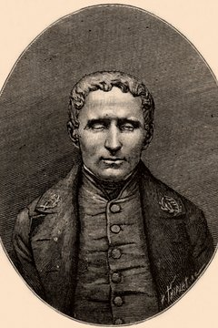 Louis Braille helped open the doors of education for the blind with his reading system.