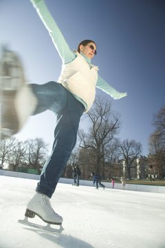 Ice skating can be great exercise, but foot pain is not fun.