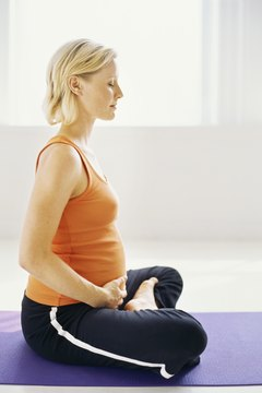 Pregnancy yoga prepares the body for the intense demands of labor.