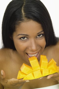 Eat or apply mangoes for beautiful, even skin tone.