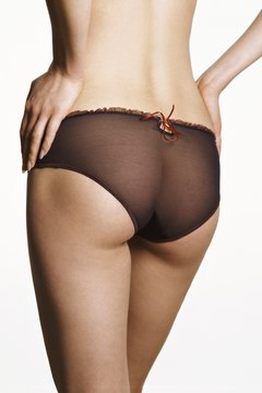 Bicycling can help build a shapely derriere.