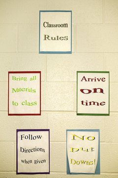 Classroom expectations should be clear and descriptive.