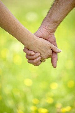 Couples with age differences might elicit stares in public.