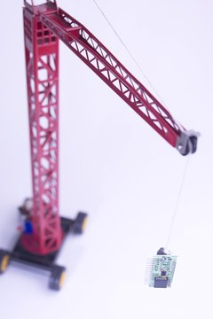 Toy cranes come in nearly every size, color and shape.