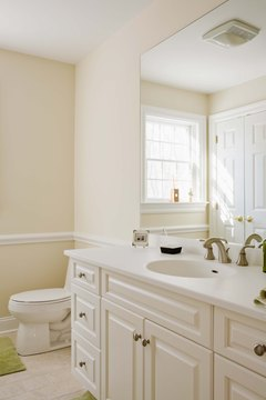 Brighten your bathroom with cosmetic changes to make $3,000 go a long way.