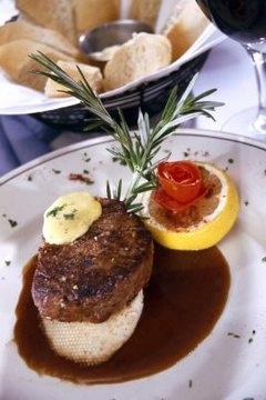 Filet mignon is also known as tenderloin steak.