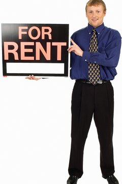 "Before posting a ""For Rent"" sign, check with your homeowner's association."