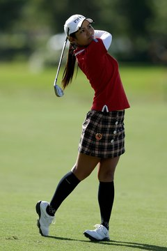 A balanced finish is a sure sign that the proper spine tilt was retained during the swing.