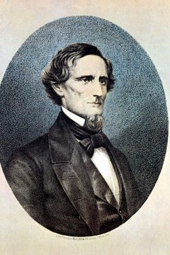 The Confederacy held one presidential election, electing Jefferson Davis to a six year term.