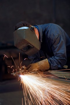 Welders often start their careers shortly after trade school.
