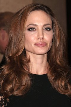 Angelina Jolie arrived at a 2012 Hollywood event with healthy, full and bouncy hair.