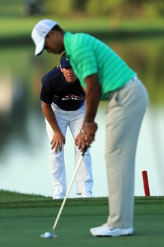 Even the pros get help. Before he won the 2012 Arnold Palmer Invitational, Tiger Woods practiced under the watchful eye of his swing coach, Sean Foley.