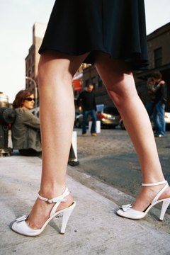 Shapely legs are a fashion requirement for leg-revealing attire.