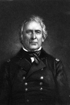 Zachary Taylor was a great soldier, but a poor politician.