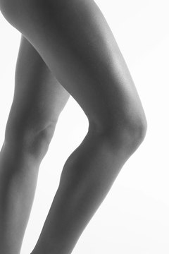 Increase repetitions and decrease resistance for sleek, toned legs.