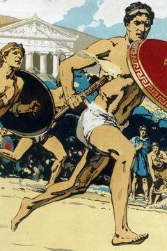 Ancient Greek Olympian athletes coveted the sacred olive wreaths as their prizes.