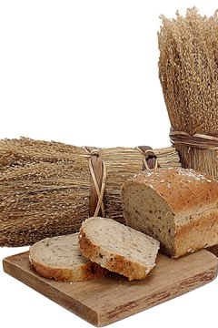 Breads and other grain products trigger physical and emotional symptoms in gluten-intolerant individuals.