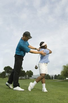 Addressing the ball correctly helps eliminate many golf swing problems.