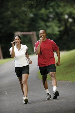 Recruit a walking buddy who pushes you to walk quickly.