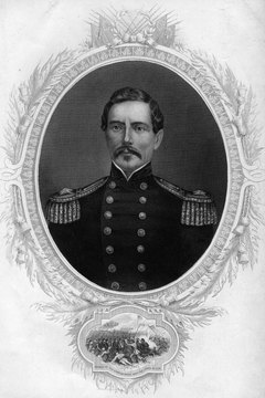 General Pierre Gustave Toutant Beauregard, commander of Confederate forces at Fort Sumter.