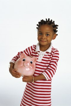 Teaching children about savings can have tax consequences.