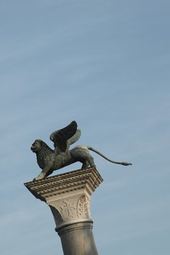 The griffin was common in Persian, Greek and medieval European artwork.