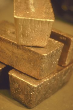 Spot gold prices are set by world markets.