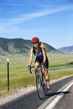 Cycling is a low-impact workout that burns lots of calories.