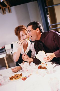 Those late night working dinners may start out flirty and lead to something else.