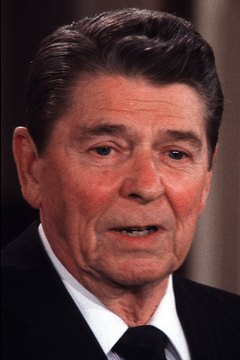 Despite his strong anti-Communist rhetoric, Reagan had a warm relationship with Soviet leader Mikhail Gorbechev.